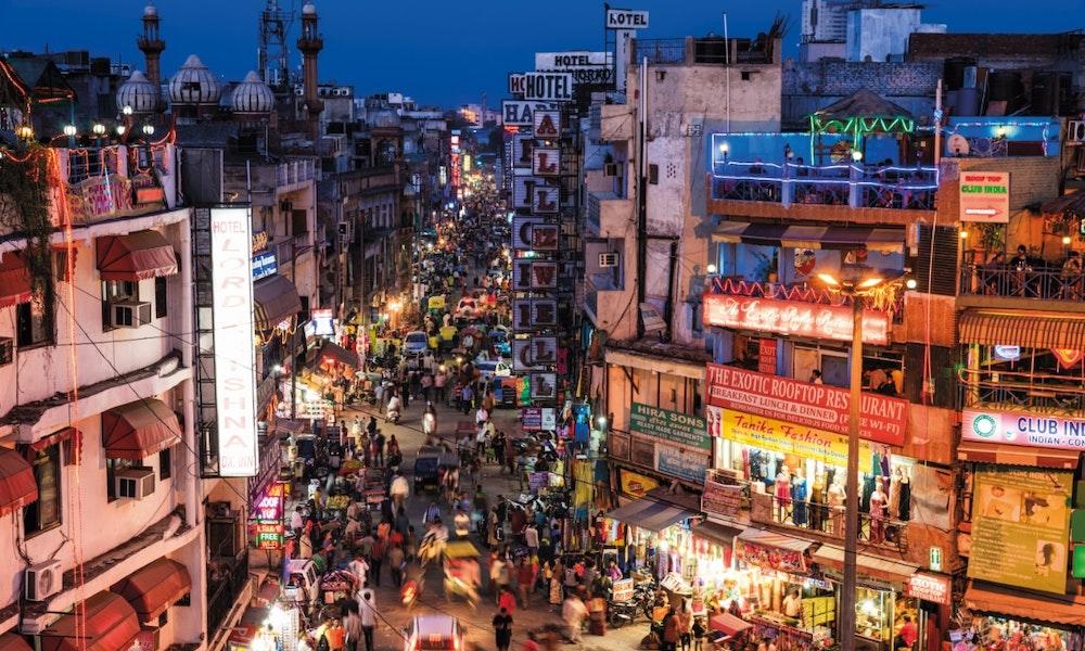 Shopping City New Delhi