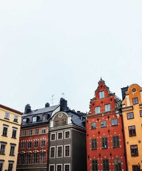 Shopping tour in Stockholm