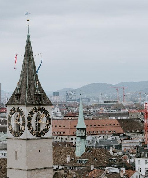 Shopping tour in Zurich