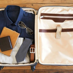 An essentials guide for businessmen—how to pack for the holiday