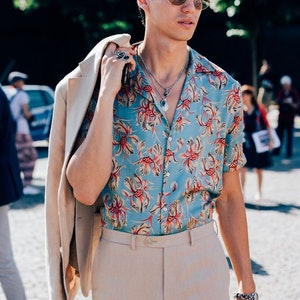 Floral Shirts: How to wear this Summer's tricky Menswearpiece