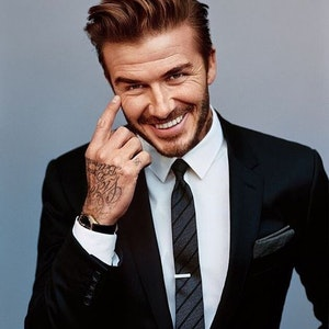 Steal the style: David Beckham