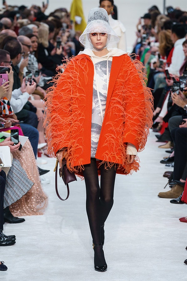 Things with feathers - one of the main trends this Fall
