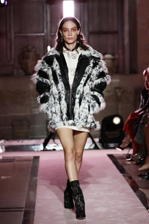 Giambattista Valli x H&M fashion show in Rome