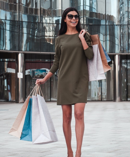 Girlfriend's shopping trip in Bangalore