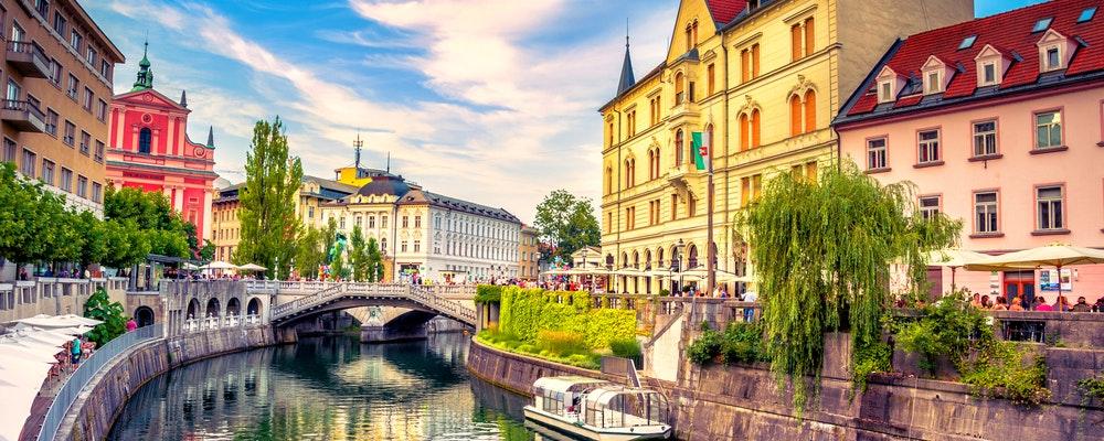 Girlfriend's shopping trip in Ljubljana