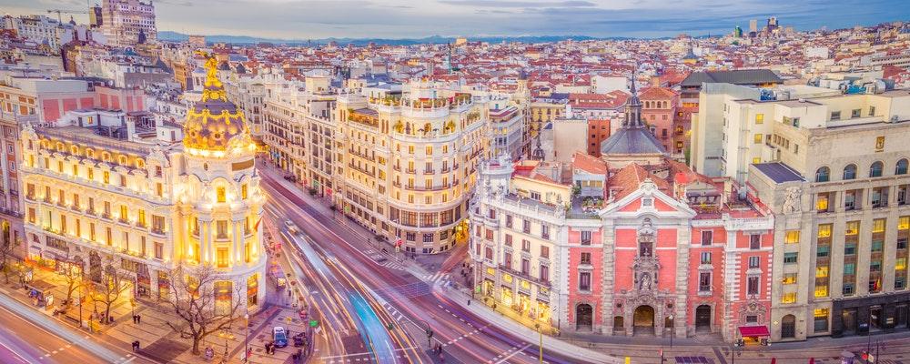 Girlfriend's shopping trip in Madrid
