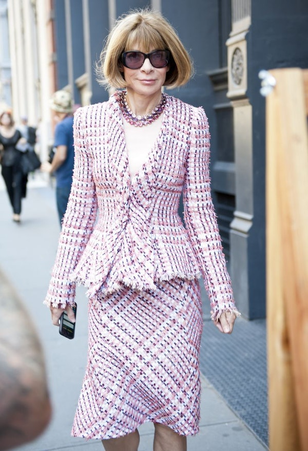 Anna Wintour - one of the most influential women in the world
