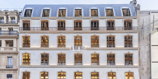 What does the new Dior residence in Paris look like