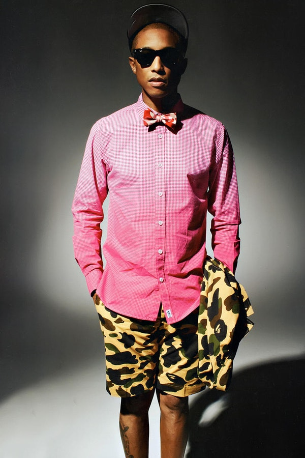 Steal his style: Pharrell Williams