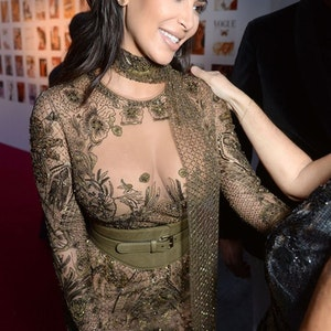 The most provocative outfits of Kim Kardashian