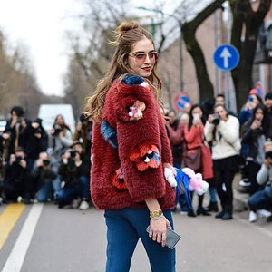 What stylish Italian women wear in winter time