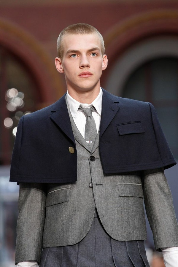 The ups and downs of a formal men's suit