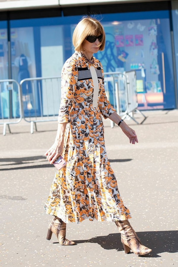 What Anna Wintour advises wearing in the Spring