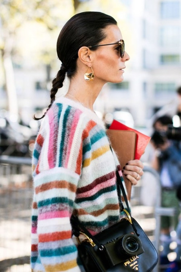Street Style: 14 hairstyles appropriate for the office