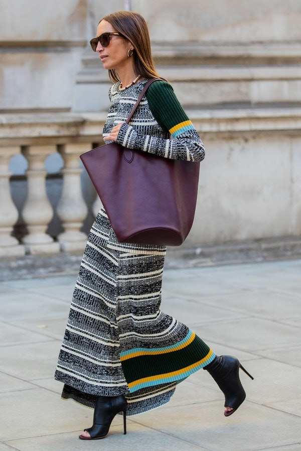 Style tips: How street style stars wear knit dresses