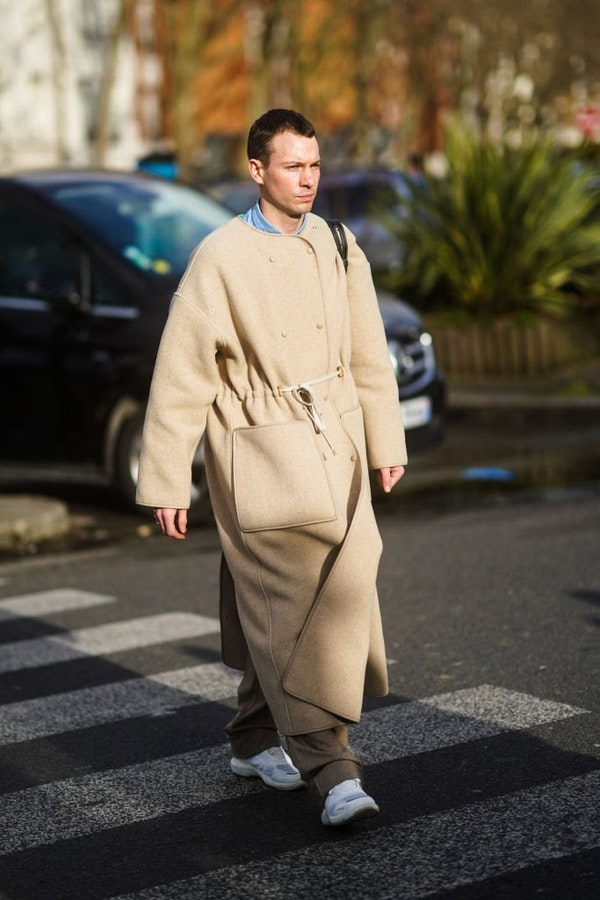 The best coat for men this Spring - look at the guests of fashion weeks