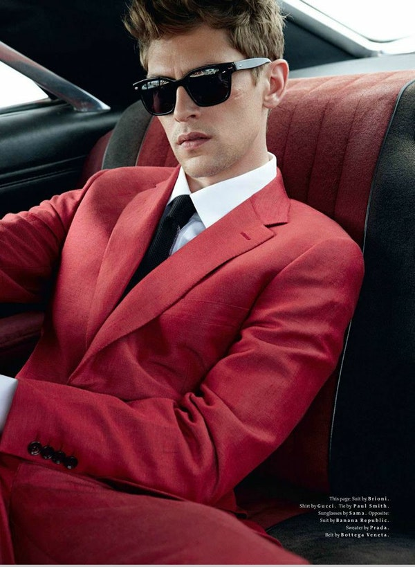 For him: stylists tips on how to wear colorful suits in the Summer