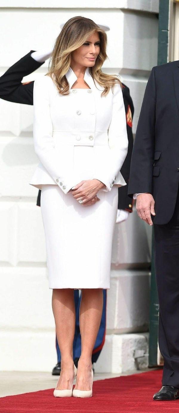 Melania Trump's capsule wardrobe