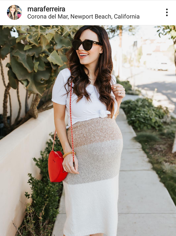 Tips from fashion influencers: what to wear when you are pregnant and how to stay fashionable