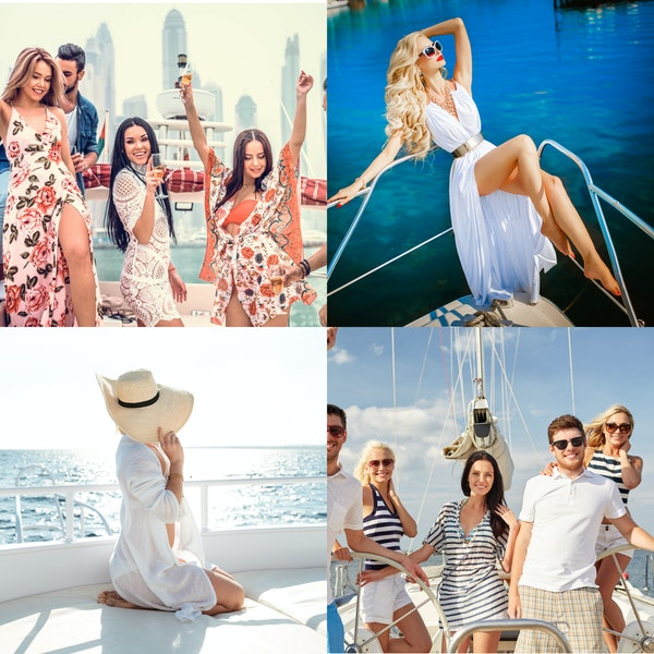 6 things that no one told you about dressing up for a yacht vacay/party!