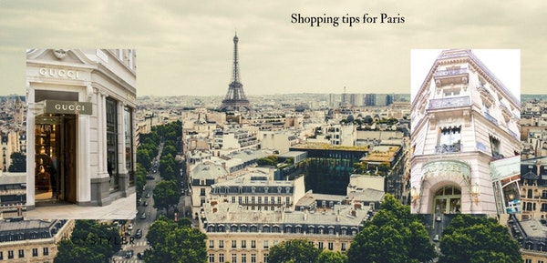 Shopping tips for Paris