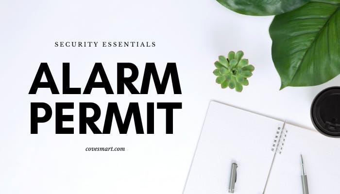 Alarm Permit Cove Security