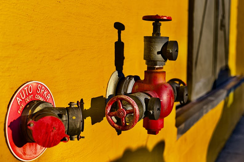 DIY Home Fire Sprinkler System and Fire Safety