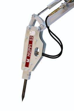 hydraulikhammer toku huppbreak52 von der seite