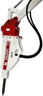 hydraulikhammer toku huppbreak72 von der seite