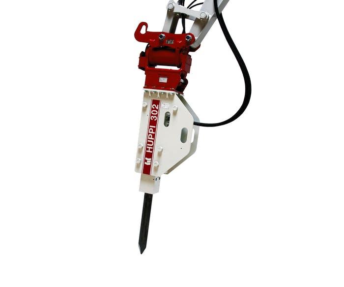 hydraulikhammer toku huppbreak302 von vorne