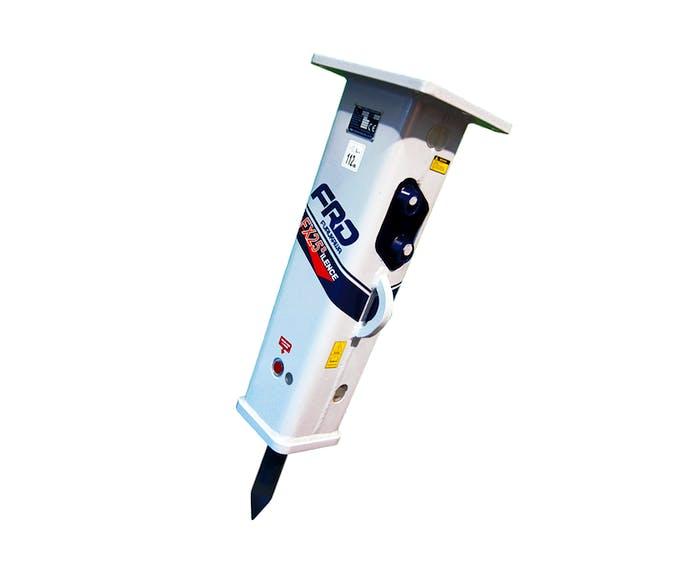 hydraulikhammer frd fx25 von vorne