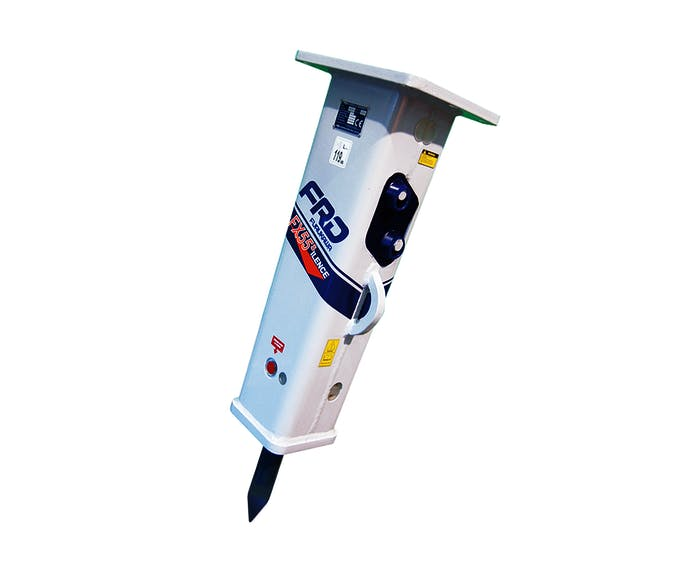 hydraulikhammer frd fx55 von vorne