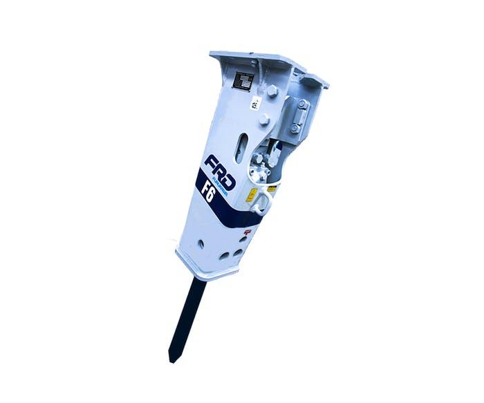 hydraulikhammer frd f6ln von vorne
