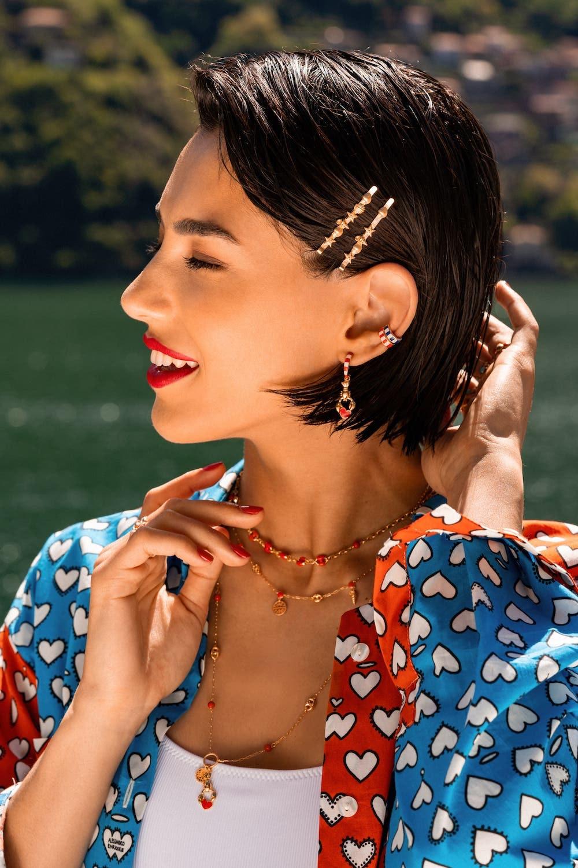 Abbinamento vestiti estivi e gioielli Marine Love Alessandro Enriquez Rue des Mille