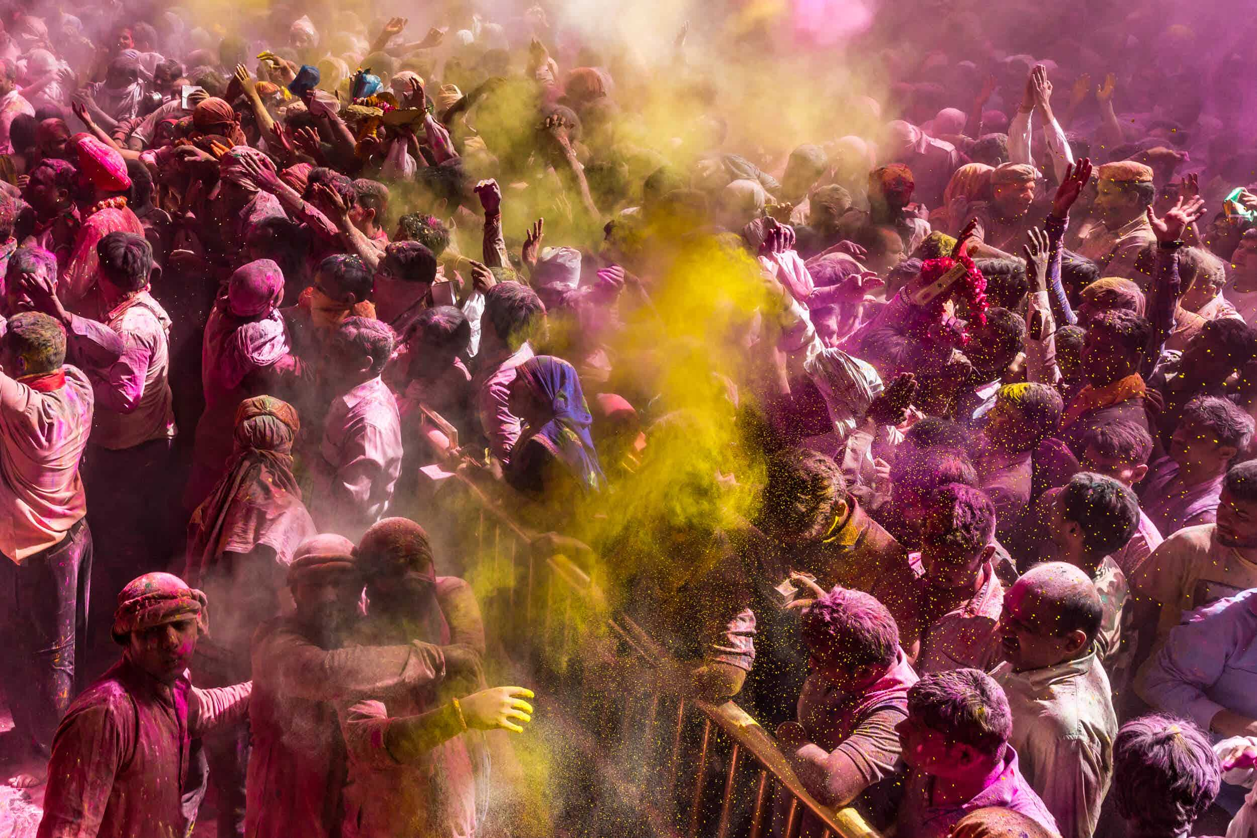 Surviving the Holi festival