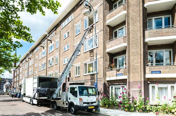 Woningen in de Baarsjes Amsterdam
