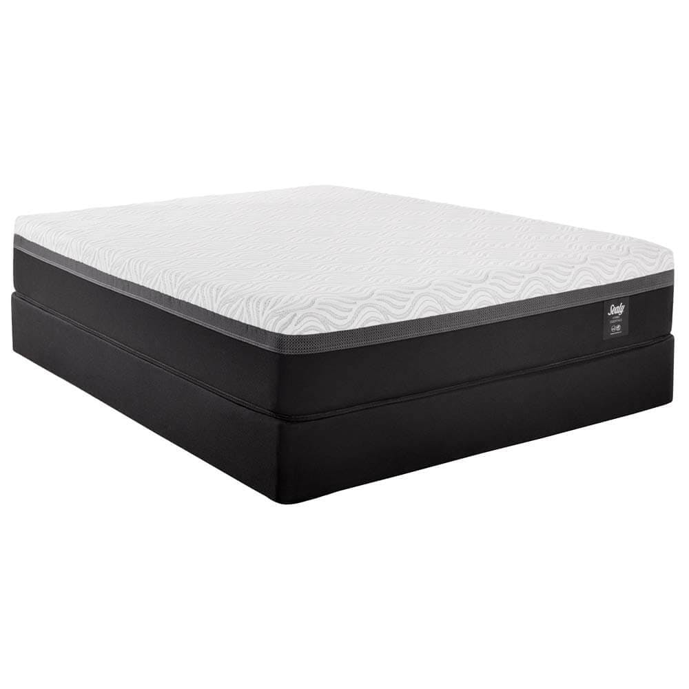 Sealy Hybrid Essentials Trust II Firm mattress side view.