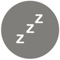 grey circle with 3 z's in the middle for blog post thumbnail