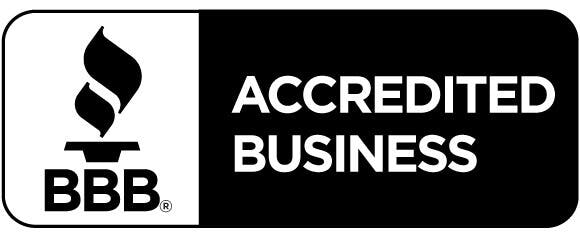 Better Business Bureau seal of approvel, click to leave review