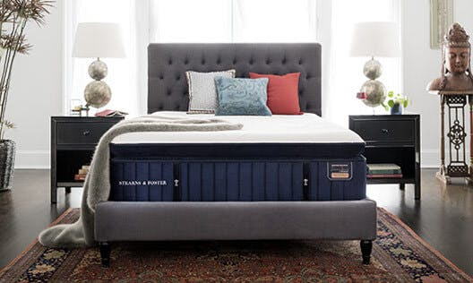 The Stearns & Foster® Reserve Collection is our highest expression of craftsmanship. We developed an entirely new mattress-making process to craft its one-of-a-kind design, quality, and feel. Nothing matches the feeling of a Reserve.