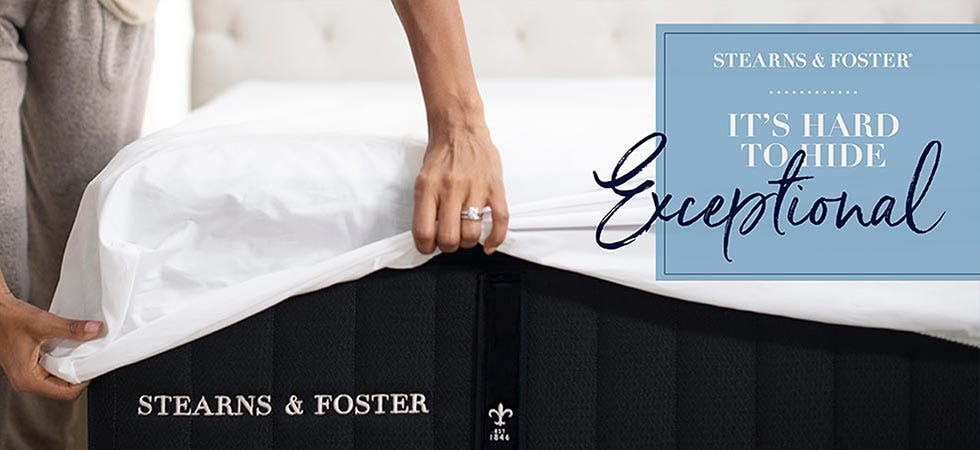 Stearns and Foster Exceptional Mattresses