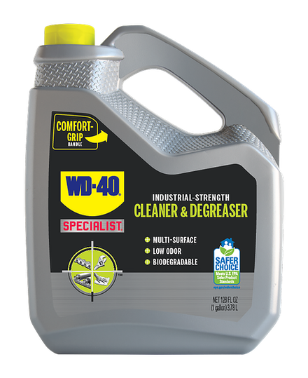 WD-40® Specialist® Industrial-Strength Cleaner & Degreaser 1 Gallon