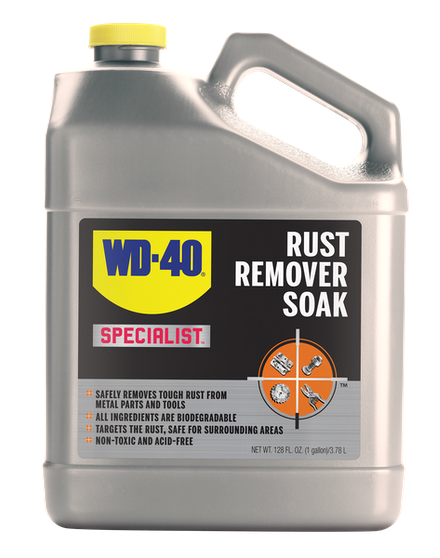 Rust Removal Solution For Tools Wd 40 Remover Soak