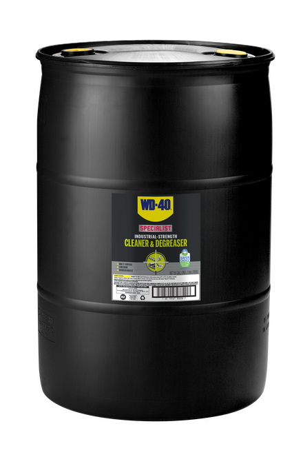 WD-40® Specialist® Industrial-Strength Cleaner & Degreaser 55 Gallon