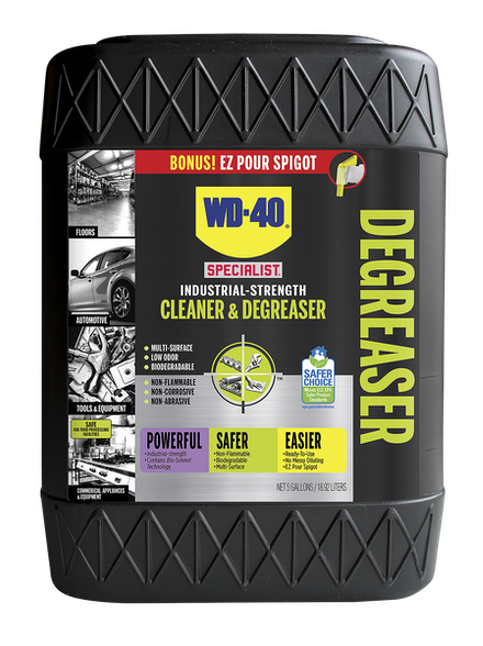 WD-40® Specialist® Industrial-Strength Cleaner & Degreaser 5 Gallon
