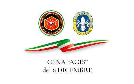 Cena AGIS del 6 dicembre