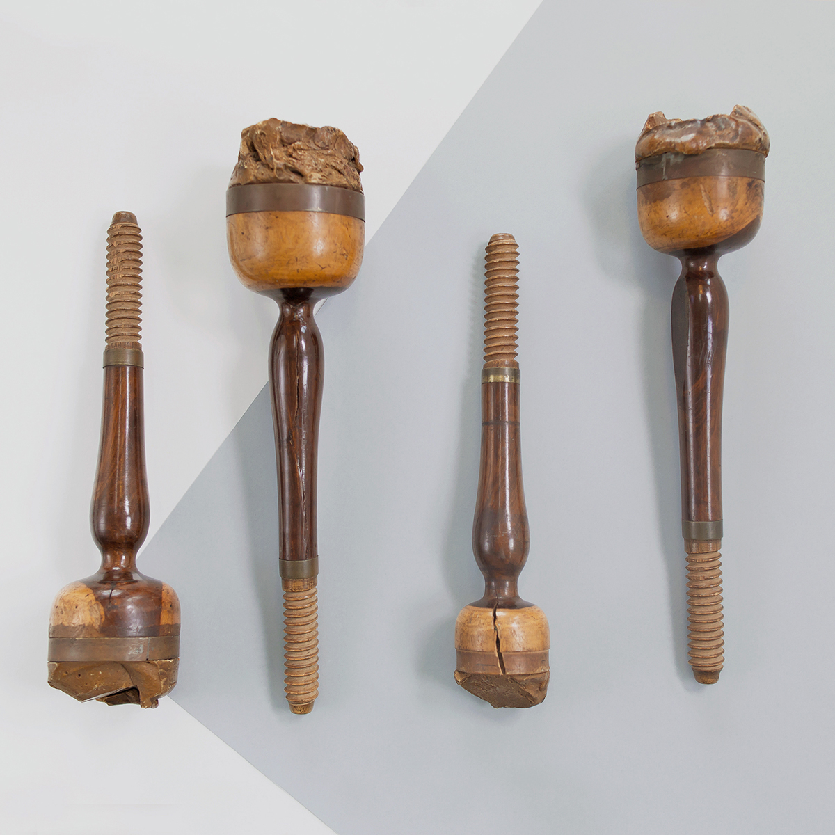 The tools used to cleave the mighty Cullinan