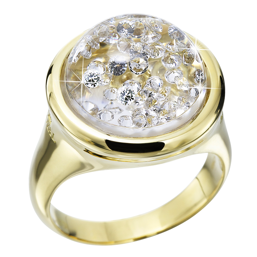 Royal Asscher - Stars Collection Classic Dome Ring Mini Yellow Gold