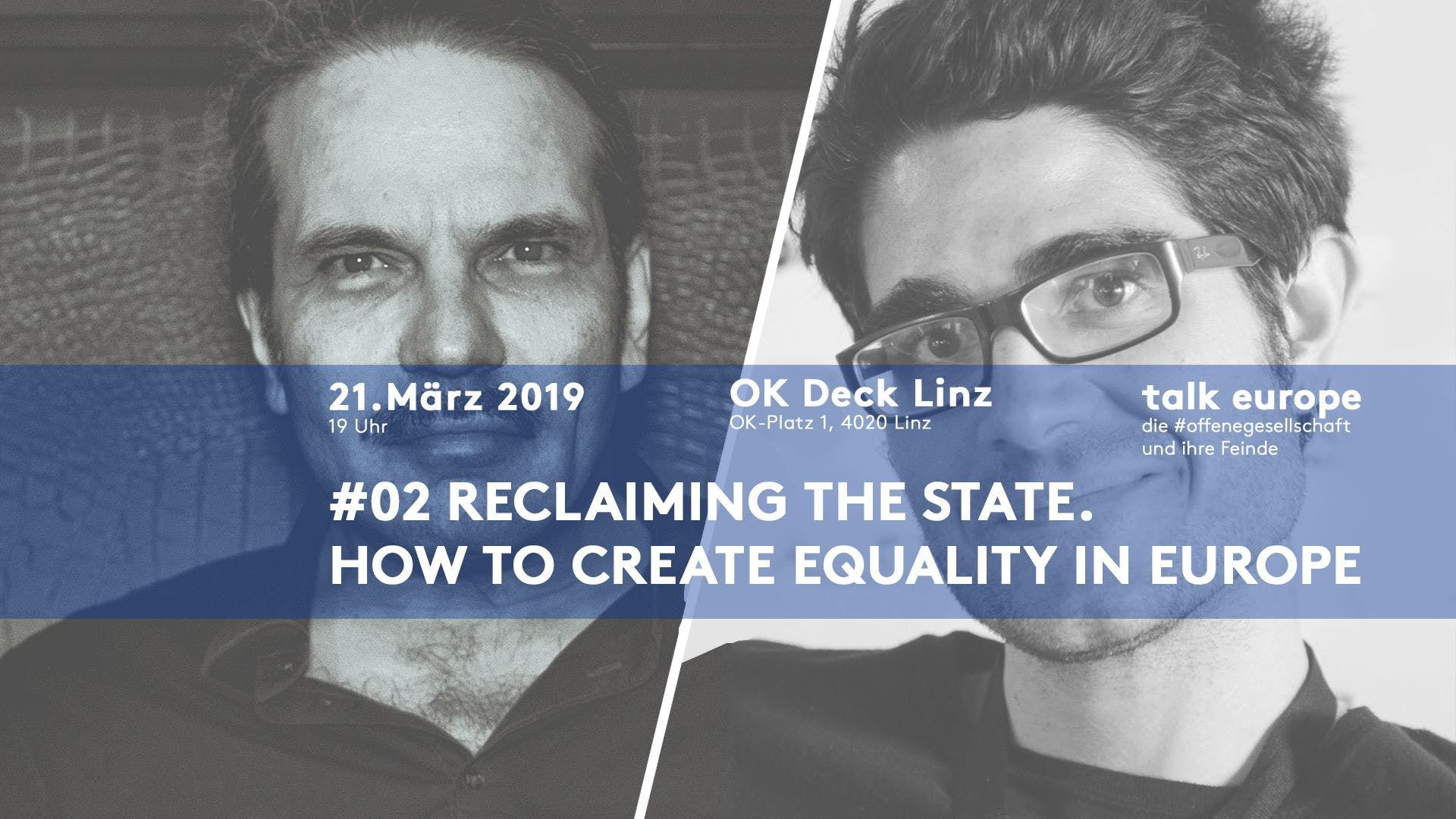 Reclaiming the State. How to create Equality in Europe